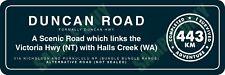 Duncan Road / Highway Bumper Sticker