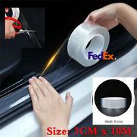 3CMx10M Transparent Car Body Bumper Antiscratch Strip Protector Sill Scuff Tape