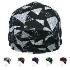 New listing Winter Warmer Double-layer Beanie Cold Weather Thermal Caps Printed Pattern Hats