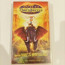 Nickelodeon The Wild Thornberry's kids movie VHS Tape Video Retro Classic