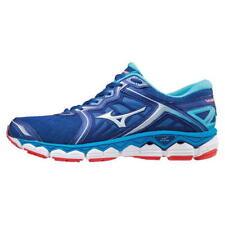 Mizuno Wave Sky Hombre Para Correr Zapatillas UK 9.5 nos 10.5 EUR 44 ref 2848 *
