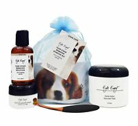 Eye Envy Tear Stain Remover Starter Kit with Small Applicator Brush Dogs Puppies