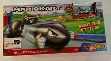 MarioKart Bullet Bill Play Set NEW Hot Wheels MarioKart Play set with Mario car