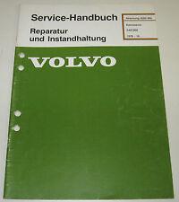 Werkstatthandbuch Volvo 340 / 360 Karosserie Reparatur ab Baujahr 1976!
