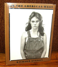 SIGNED Richard Avedon In The American West 1985 HC DJ Duotone Second Print