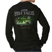 Largemouth Zombie Bass Funny Outdoor Nature Fisherman Gift Long Sleeve TShirt