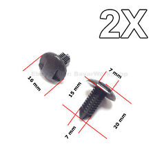2X Interior Boot, Dashboard & Trim Panel Clips, for Toyota
