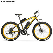 BICICLETTA ELETTRICA 1000W 48V FAT BIKE LANKELEISI XF4000 BICI MOUNTAIN E-BIKE