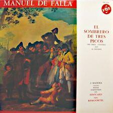 VAN REMOORTEL/J.MADEIRA/WIENER SYMPHONIKER el sombrero de tres picos DE FALLA LP