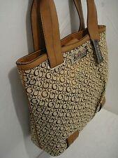 GUESS Aversa Large Khaki and Mocha Tote Shoulder Bag nwt