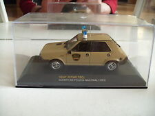 Ixo Seat (Fiat) Ritmo 75Cl Cuerpo de  Policia Nacional 1981 in box on 1:43