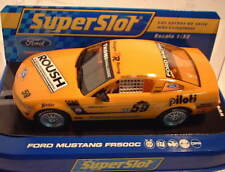 qq H2888 SUPERSLOT FORD MUSTANG FR 500C REHAGEN RACING # 59 - Scalextric UK -