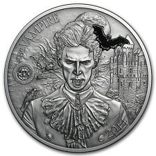 2014 Palau 2 oz Silver Mythical Creatures Collection Vampire - SKU #92954