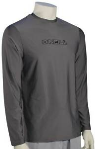 O'Neill Basic Skins LS Surf Shirt - Smoke - New