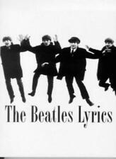 The Beatles Lyrics By Jimmy Saville
