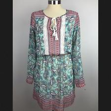 DR2 XS Green Paisley Dress