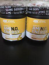 Optimum Nutrition Amino energy Supplement Pineapple Flavour 270g X2