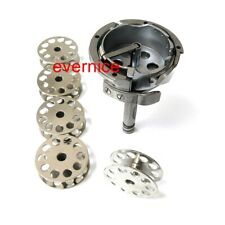 Large Rotary Hook #265093 265361+5 Bobbins For Singer 144W 145W Consew 744R 745R