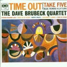 "DAVE QUARTET BRUBECK ""TIME OUT"" CD NEW+"