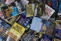 Lot of 10 David Baldacci Paperback Books MIX