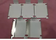 APPLE MACBOOK A1181 HARD DRIVE SLED CADDY LOT OF 5 without screws