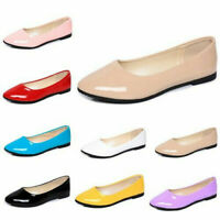 Womens Comfort Casual Pumps Loafers Ladies Slip on Flats Pointed toe Boat Shoes