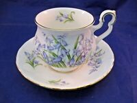 """ROYAL ALBERT TEA CUP AND SAUCER SONNET SERIES - """"WORDSWORTH"""" - MADE IN ENGLAND"""