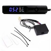 Universal Auto Turbo Timer For NA & Turbo Black Pen Control Blue LED Unit 12V