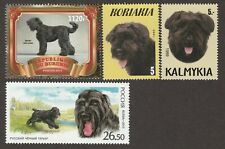Black Russian Terrier * Int'l Dog Postage Stamp Art Collection * Great Gift *