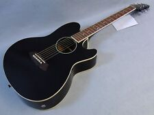 Ibanez TCY10E Black Gloss Acoustic Electric Guitar Professionally Set Up!