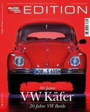 Volkswagen VW Beetle 80 Jahre Auto Motor and Sport Edition with Data and Facts