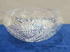 """WATERFORD CRYSTAL CHANDELIER PART, B3 BOTTOM BOWL, COMERAGH CRANMORE, 8 3/4"""""""