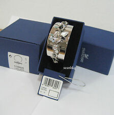 Swarovski Rachel Bangle, size: S, Flower, Crystal Authentic MIB 1128025