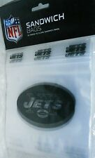 "NEW YORK JETS SANDWICH BAGS  20 Press to Close Bags  6.5"" x 5.875"""