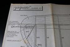 ZF1653 Precisia plan maquette avion Planche N° 2 Jaguar