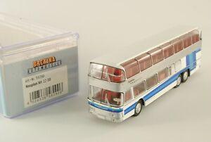 Brekina 58290 58291 Autobus NEOPLAN NH 22 DD doppio piano Bus pulmann H0 1:87