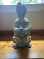 Mccoy Grey Rabbit Cookie Jar