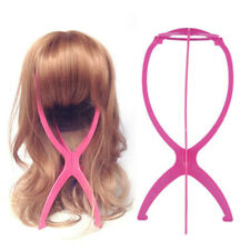 Wig Stand Display Mannequin Dummy Head Hat Cap Hair Holder Folding Stable Tool