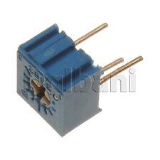 10pcs @$0.99 3362P-1-204LF Bourns Trimpot Cermet Trimmer POT 1 Turn .5W 200K