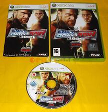 WWF SMACKDOWN VS RAW 2009 XBOX 360 Versione Italiana 1ª Edizione ○ COMPLETO - AI