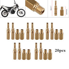 20pcs/set Main Jets w/ Slow Pilot Jets for Motorcycle Carburetor Injector Nozzle