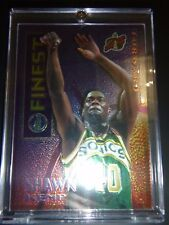 Shawn Kemp 1996 rare topps finest refractor card