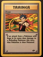 Carte Pokemon KOGA 106/132 Rare Gym Challenge Wizard CARD NEUF