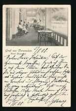 AK Gruß aus Daressalam, Hotel Kaiserhof, Schiffspost OST-AFRIKA LINIE (60696)