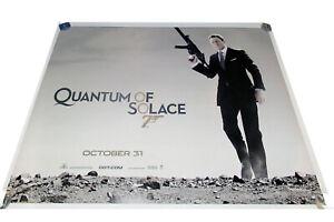 Quantum of Solace movie UK quad poster ORIGINAL D/S James Bond 007 V2