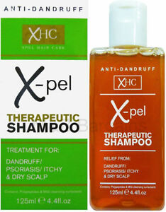 Xpel Therapeutic Shampoo 125ml Treatment for Dandruff Psoriasis Dry Itchy Scalp