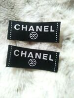 Chanel Clothing Label Designer Shirt Tag Replacement Sewing Accessory