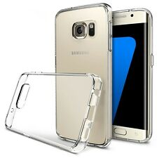 Clear Transparent TPU Rubber Gel Back Case Cover For Various Samsung Galaxy
