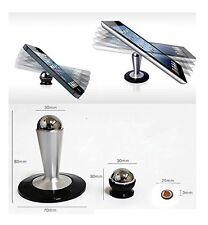 Rotating 360° Magnetic Car Dash / Desktop Mount Holder / Hold Phone For GPS UK