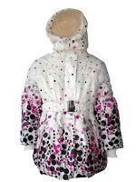 New Girls Coat School Padded Hooded Jacket Age 3 5 7 8 9 11 13 years Waterproof